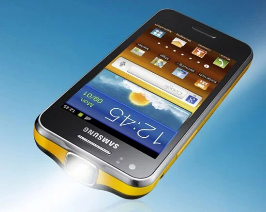Samsung Galaxy Beam Projector Android Smartphone
