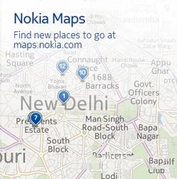 Nokia Brings in Real-time Live Traffic update on Maps for Delhi and Mumbai