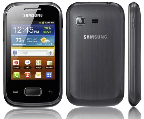 Samsung Unveils Budget Android SmartPhone Galaxy Pocket