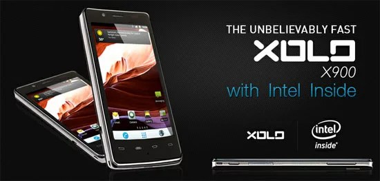 Intel Medfield Inside Lava XOLO X900 Smartphone Launched in India