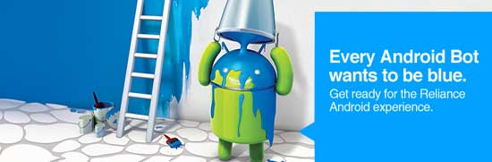 Reliance Communications Partners Google to provide Free 3G with Android Smartphones