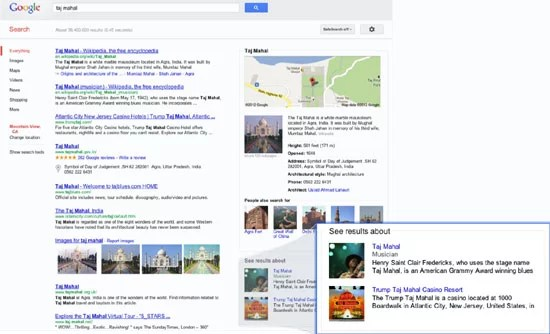 Google Enriches its Search with intelligent model 'The Knowledge Graph'