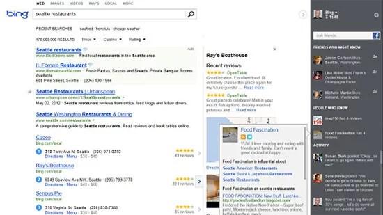 Bing Gets Complete Design Overhaul Adds up Social Sidebar, resembles Google
