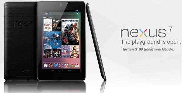 Google unveiled Nexus 7 tablet, takes on Amazon's Kindle Fire