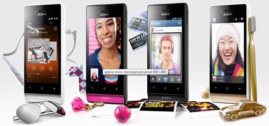 Sony Xperia Miro Android smartphone features and specification