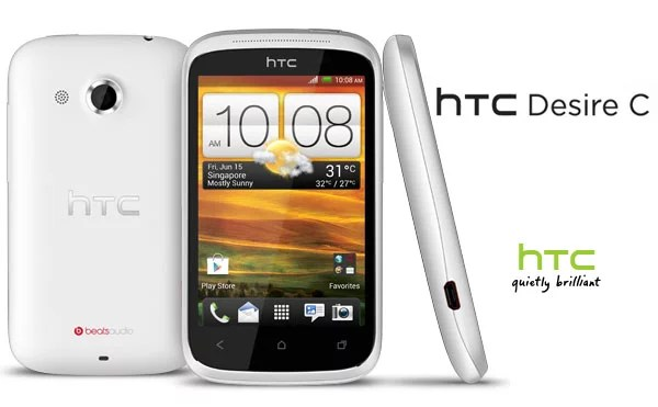 HTC Desire C Android smartphone launched in India for Rs14,999