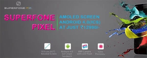 Micromax launches A90 Superfone PIXEL with 4.3inch Super AMOLED display