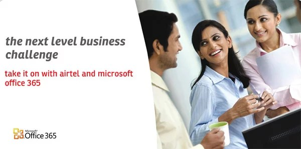 Airtel's Internet services now Bundled with Microsoft Office 365 product suite