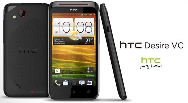 HTC Desire VC - Dual SIM Android Smartphone launched in India