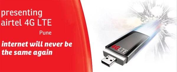 Airtel starts 4G LTE service in Pune