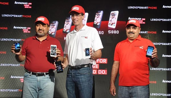 Lenovo enters Indian Mobile Market with Five Android Smartphones starting at Rs 6,499