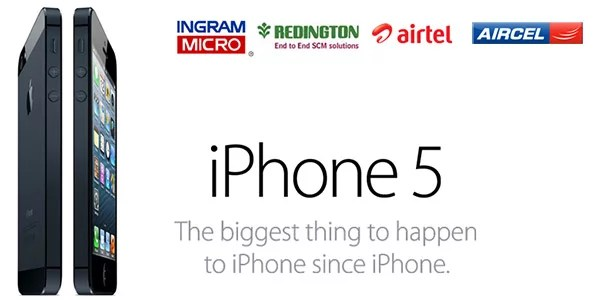 Apple iPhone 5 officially launched in India - Airtel, Aircel special tariff plans