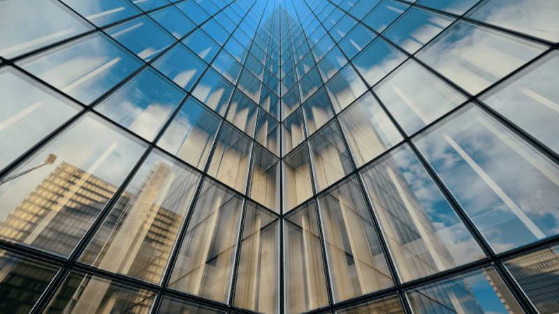 Clouds of glass