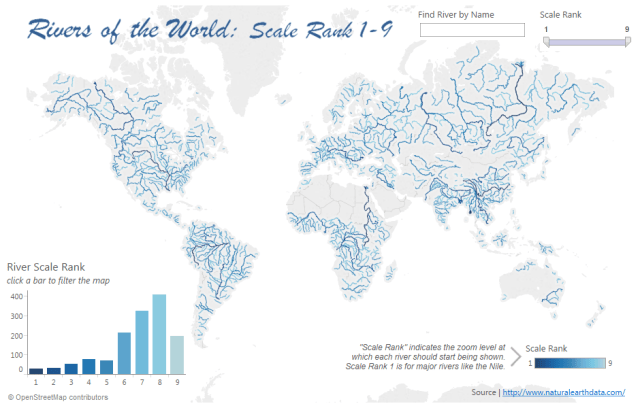 Mapping the World\'s Rivers – DataRemixed
