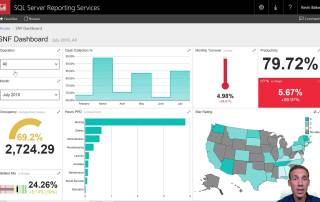 Kevin Baker, of Data Services Partners, demonstrates how using an OLAP cube allows Skilled Nursing Facilities to visualize their data in mobile reports. This example uses mock nationwide data to demonstrate how a SNF administrator or executive can quickly view key metrics in their mobile device or any screen. Connect to Power BI, Mobile Reports, Domo, Tableau, or any other visualization platform. Systems like Point Click Care (PCC) have Data Relays that can act as a data source for data warehouses. These data warehouses can be automated to populate pivot table style reports that let you look at facts from many different dimensions. For more information on automating data for management tools and reporting for your skilled nursing facility or post acute healthcare facility, contact Data Services Partners today! www.DataServicesPartners.com