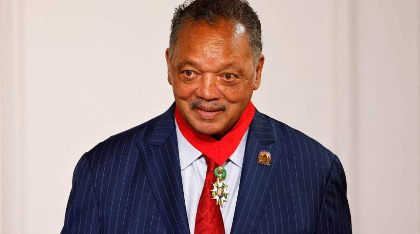 Jesse Jackson Doing 'Fairly Well' In Hospital With COVID -19