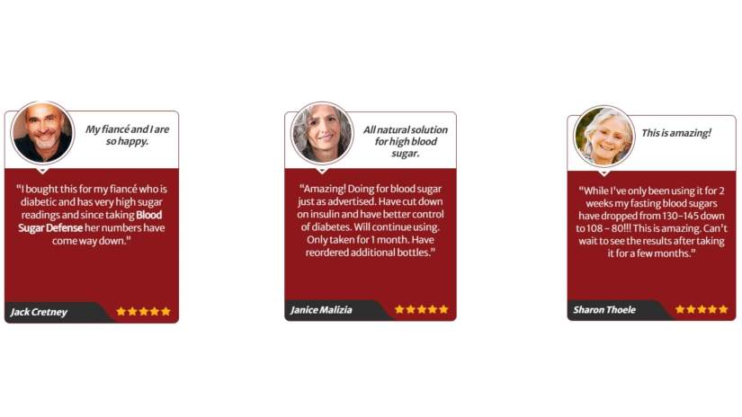 Blood Sugar Defense Customer Reviews