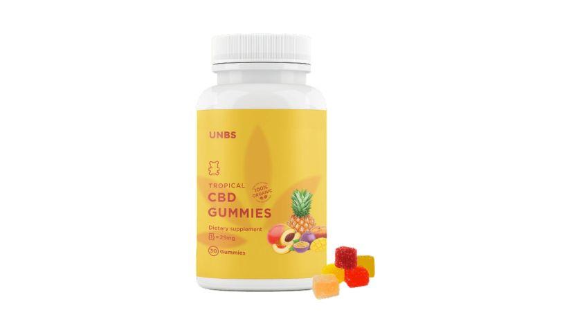 UNBS Tropical CBD Gummies