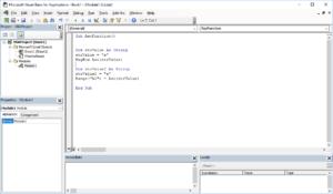 Excel VBA functions - Asc VBA function