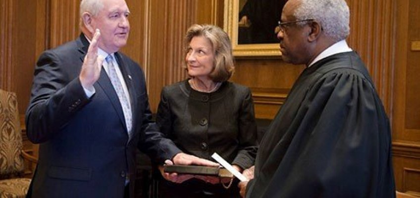 Perdue sworn in as new Agriculture Secretary