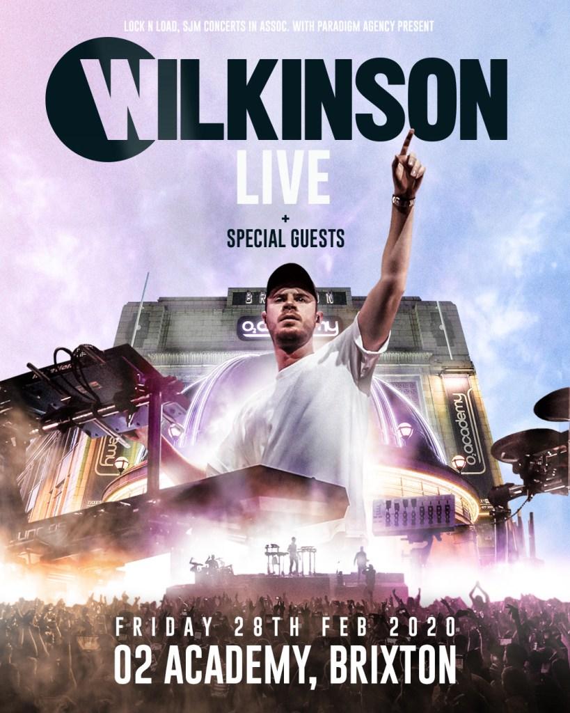 Wilkinson Live flyer
