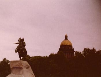 Leningrad1977BronzeHorsemanStIssacsImageTVS