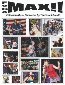 FoCo MAX!! Colorado Music Photozine 2017 By Tim Van Schmidt