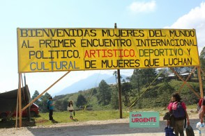 Primer encuentro internacional de mujeres que luchas - Foto Ana Claudia Aguilera