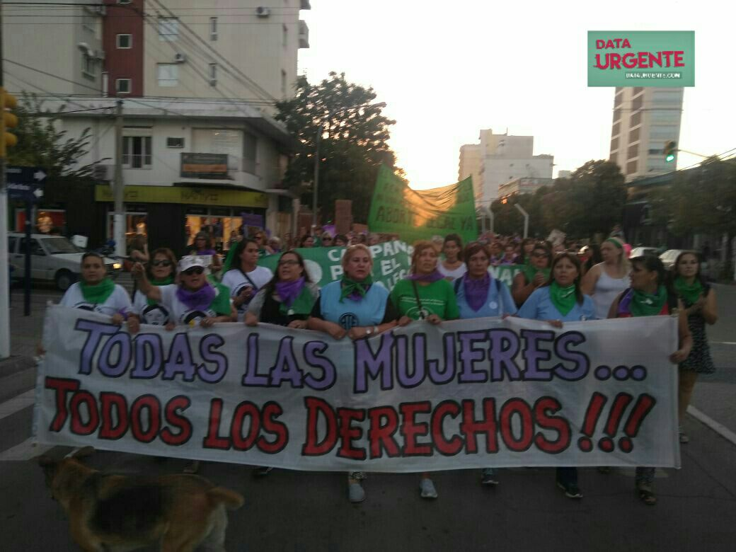 #8M #NosotrasParamos Foto: RCA Nacional - MaFer Raimondo