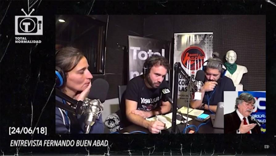 Fernando Buen Abad en Total Normalidad