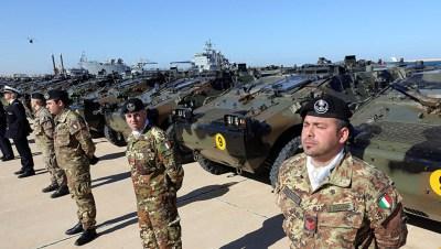 Militares italianos