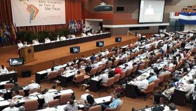 Foro de Sao Pablo XXIV - Cuba - Foto Prensa Latina