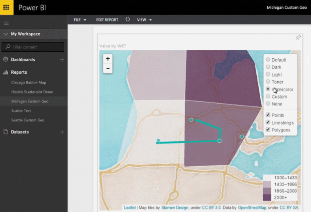 5 Ways to Create Maps in Microsoft Power BI