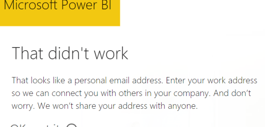 """Is Power BI """"Free"""" the same as a Personal version?"""