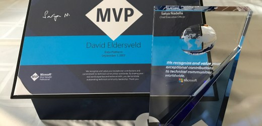 In Gratitude for a Microsoft MVP Award