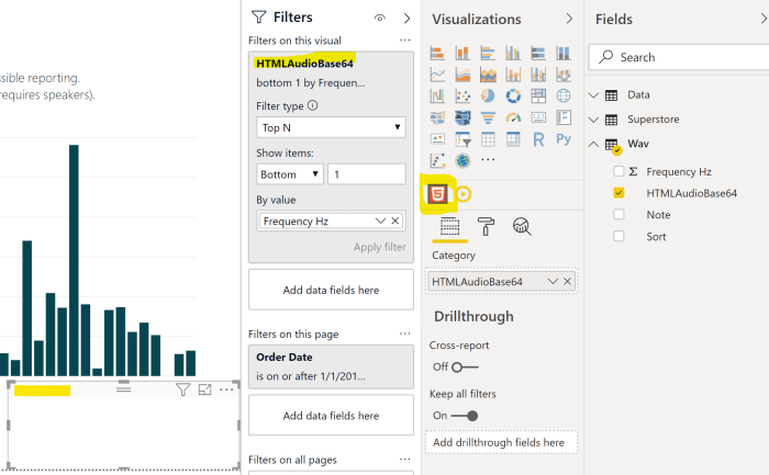 Data Sonification in Power BI - DataVeld