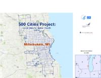 500 Cities: Milwaukee Wisconsin Map Book