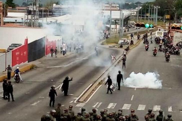 Protestas del 2017
