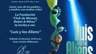 Mauro Libi - Fundación Casa Hogar al Fin llevó a niños al cine a ver Luis vs los aliens (1)