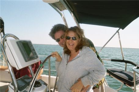 Sailing Larry and Bobbi