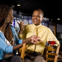 Blk Couple On A Date Talking E1383886155667