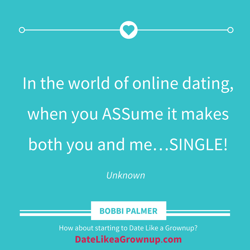 online dating about you