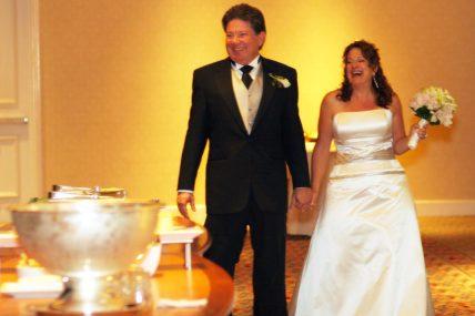 Post Wedding Ceremony Larry And Bobbi Palmer Colorized E1504913351420