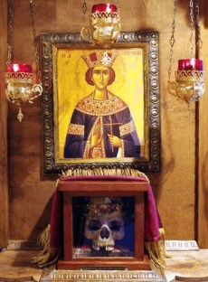 Relics of Orthodox Martyr St Irene