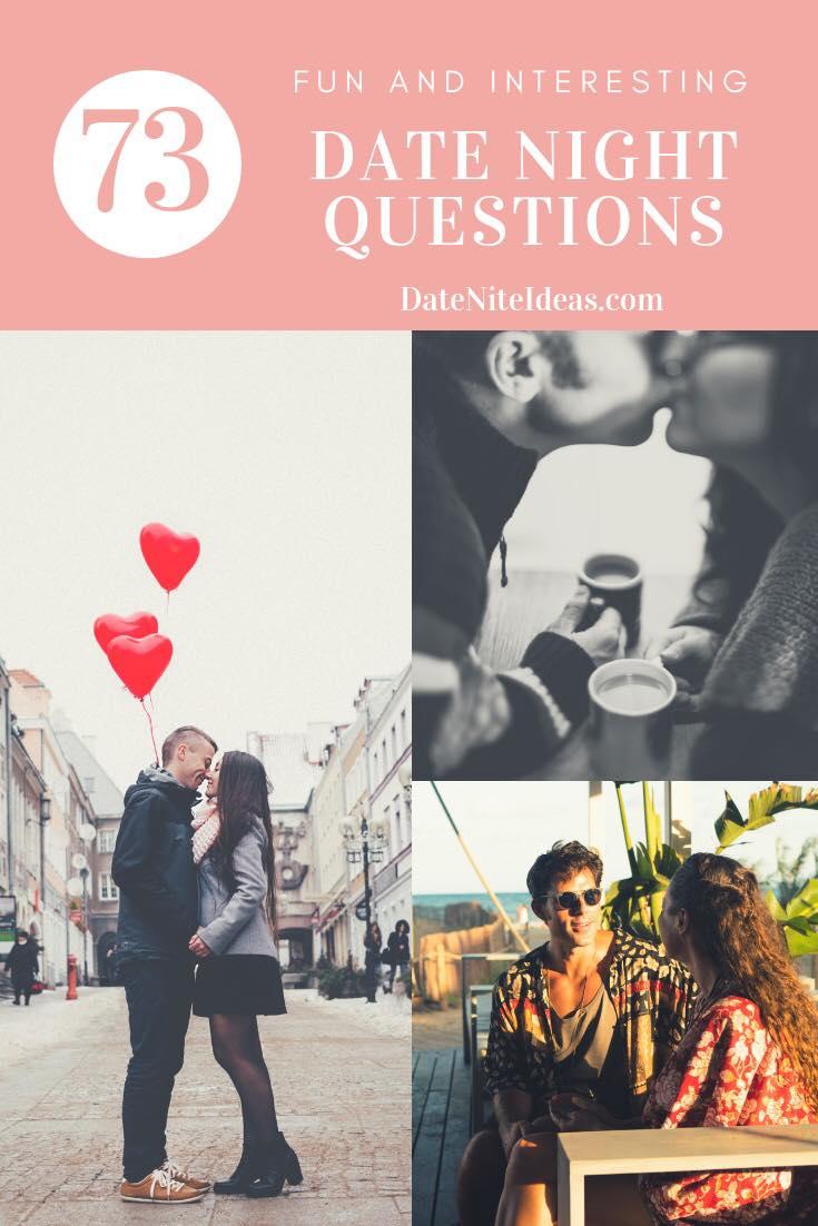 A round-up of date night questions, icebreakers, and conversation starters.