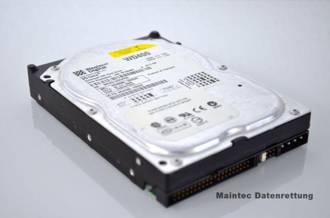 13 Jahre alte Festplatte zur Datenrettung