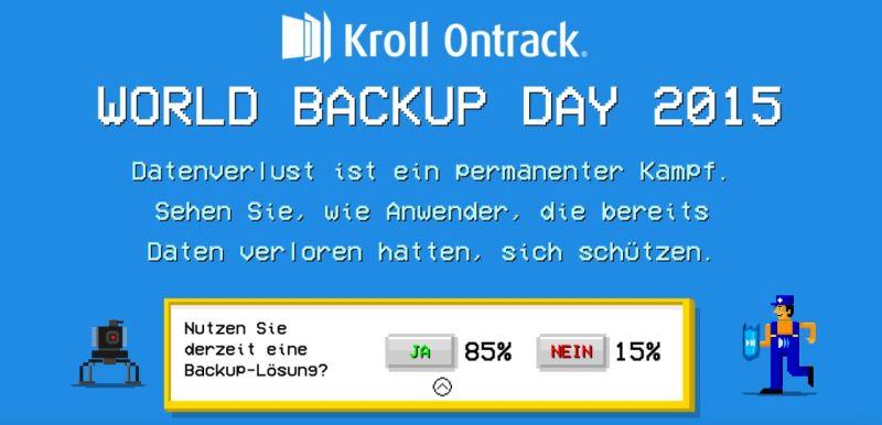 World Backup Day 2015