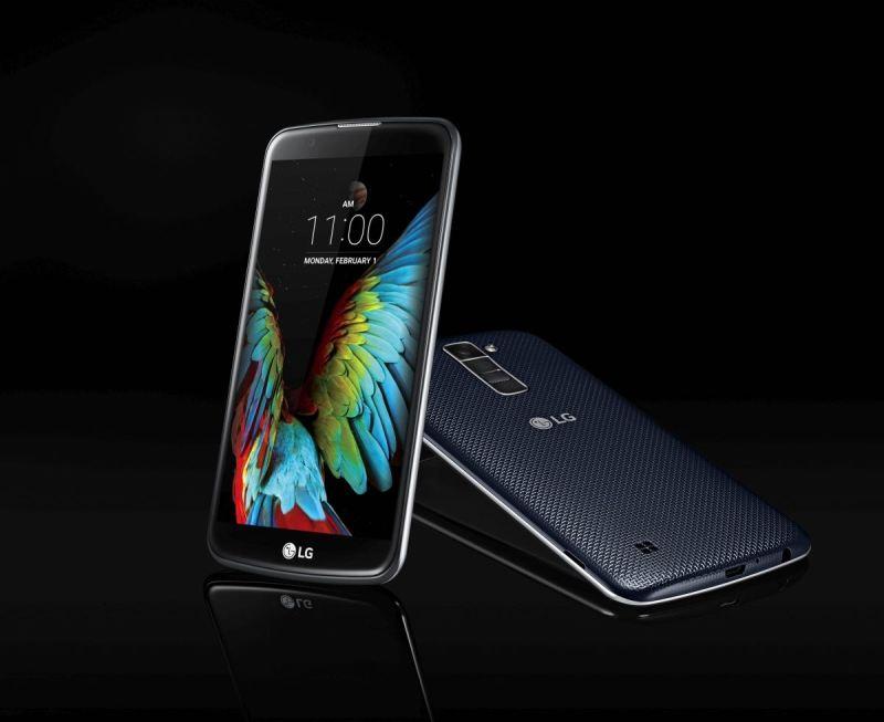 LG K10. Bild: LG