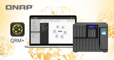 QNAP QRM+ App für zentrale Verwaltung