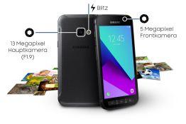 Ein neues Outdoor Smartphone wird ab April 2017 verfügbar sein. Quelle: Samsung